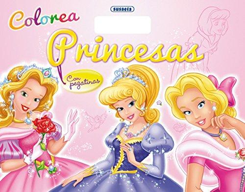 9788467720983: Colorea princesas con pegatinas (Mi bloc de ...)