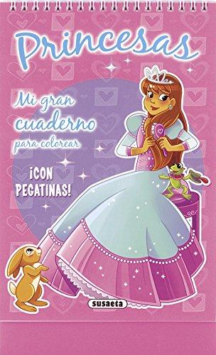 9788467721454: Princesas (Mi gran cuaderno para colorear)