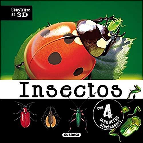 9788467722901: Insectos (Construye en 3D)