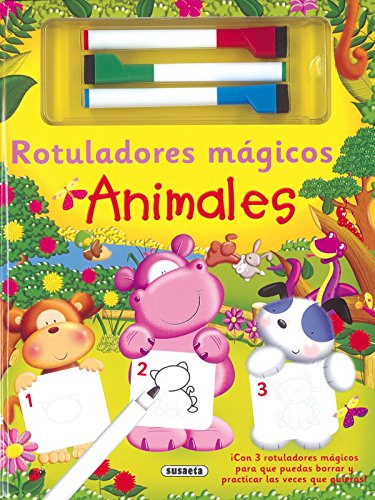 9788467724752: Animales. Rotuladores Mágicos