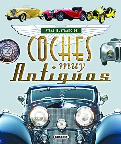 9788467725124: Atlas ilustrado de coches muy antiguos