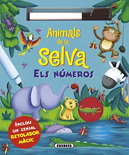 9788467733778: Animals de la selva - els números (Dibuixa i somriu)