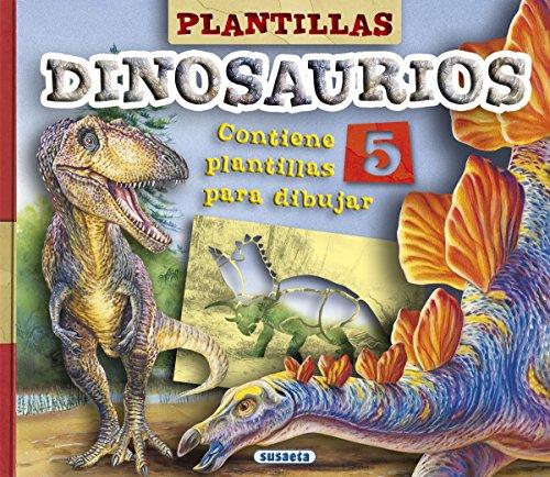 Plantillas dinosaurios. Edad: 6+. Contiene 5 plantillas para dibujar.