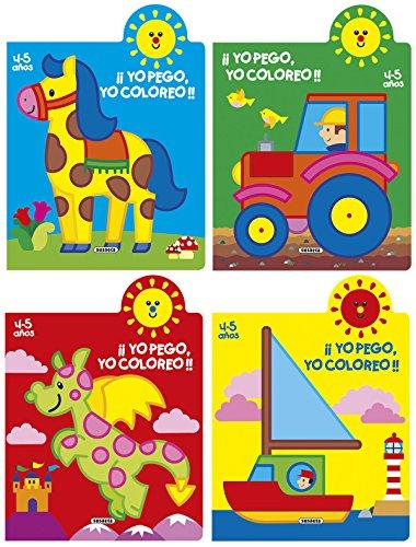 Yo pego, yo coloreo! 4-5 años (4: Jordi Busquets