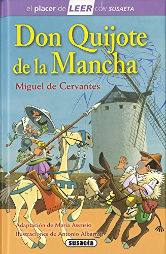 9788467748895: Don Quijote de la Mancha (El placer de LEER con Susaeta - nivel 4)