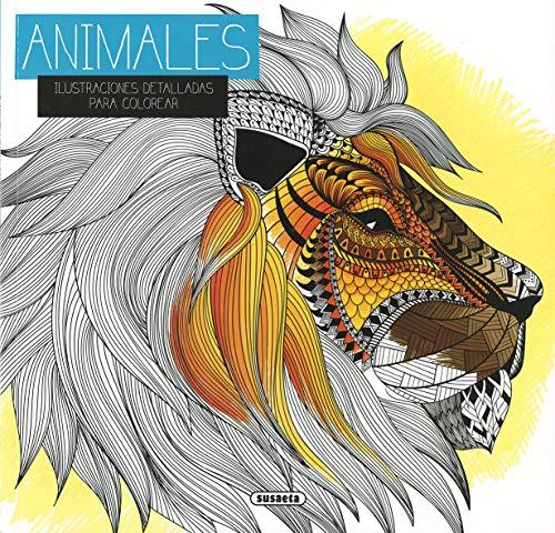 9788467749762: DIBUJOS ENTRETEJIDOS. ANIMALES (ILUSTRACIONES PARA COLOREAR
