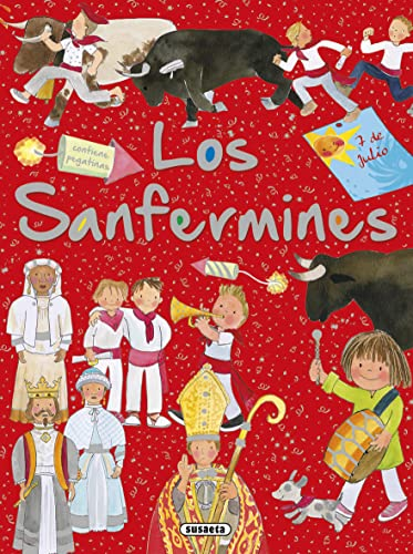 Los Sanfermines con pegatinas (Paperback): Carmen Blazquez