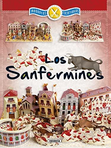 Los Sanfermines, maquetas recortables (Paperback): AA.Vv.