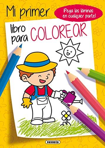 9788467752250 Mi Primer Libro Para Colorear Amarillo
