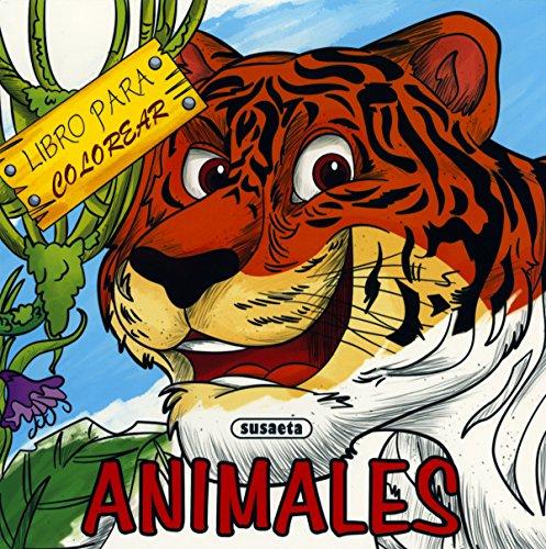 9788467753264: Animales (Libro para colorear)