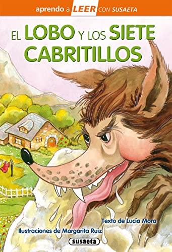 9788467758757: El lobo y los siete cabritillos (Aprendo a LEER con Susaeta - nivel 0)
