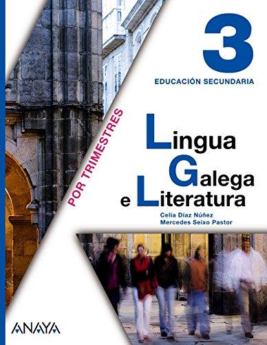 9788467800746: Lingua Galega e Literatura 3.