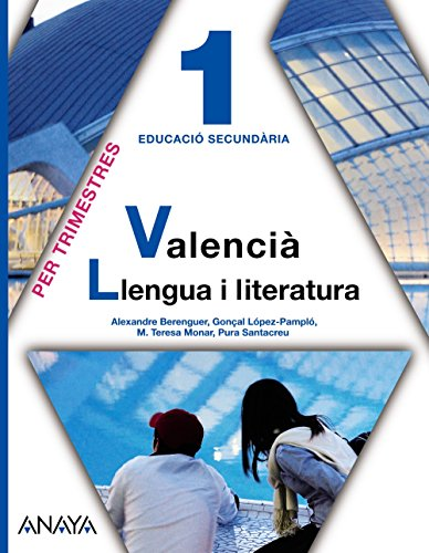 9788467800760: Valencià: Llengua i literatura 1.