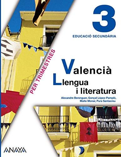 9788467800791: Valencià: Llengua i literatura 3. - 9788467800791