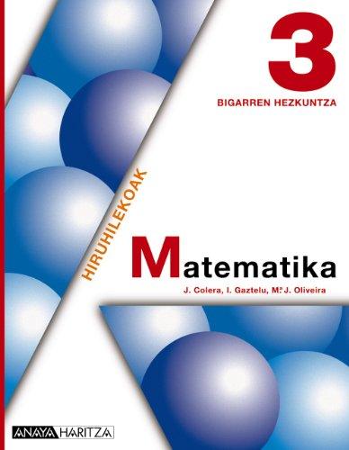 9788467801798: Matematika 3.
