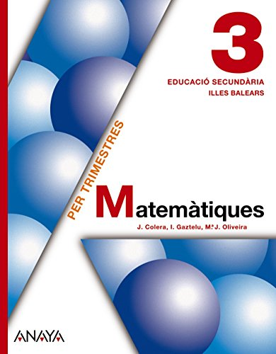 9788467802085: Matemàtiques 3.
