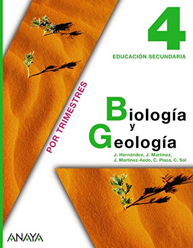 Biologia y geologia 4ºeso.(trimestres): Plaza Escribano, Concepción/Hernández