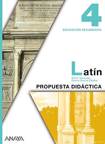 9788467802726: Latín 4. Material para el profesorado.
