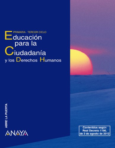 9788467803884: Educación para la Ciudadanía y los Derechos Humanos. (Abre la puerta)