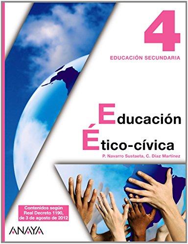 9788467804287: Educación Ético-cívica 4.
