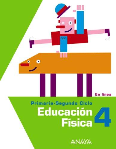 9788467804423: Educación Física 4. (En línea)