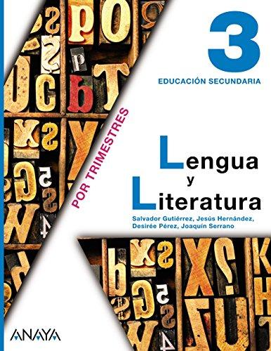 9788467813432: Lengua y Literatura 3.