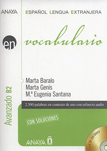 9788467813692: Nuevo Sueña: Vocabulario. Nivel avanzado B2 (Anaya E.L.E. En - Vocabulario - Nivel Avanzado (B2))