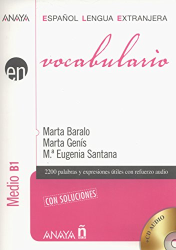 9788467815368: Vocabulario. Nivel Medio B1 (Anaya E.L.E. En - Vocabulario - Nivel Medio (B1))