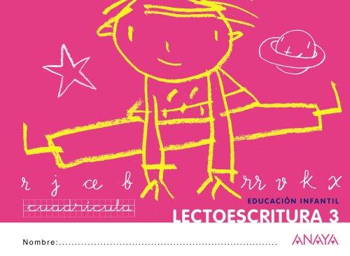 9788467815719: Lectoescritura 3. Cuadrícula. - 9788467815719