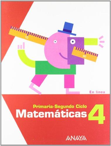 9788467817027: Matemáticas 4. (En línea)