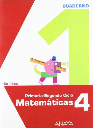 9788467817133: Matemáticas 4. Cuaderno 1. (En línea)