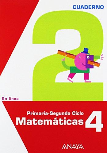 9788467817140: Matemáticas 4. Cuaderno 2.