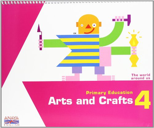 9788467818796: Arts and Crafts 4. (Anaya English)