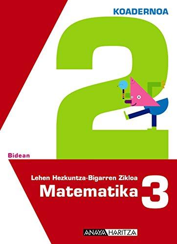 9788467821574: Matematika 3. 2 koadernoa.