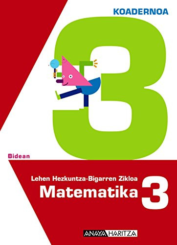 9788467821581: Matematika 3. 3 koadernoa.