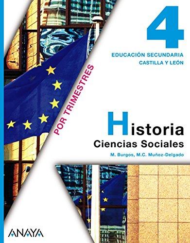 9788467824339: Historia, 4 ESO (Castilla y León)
