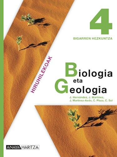 9788467826432: Biologia eta Geologia 4.