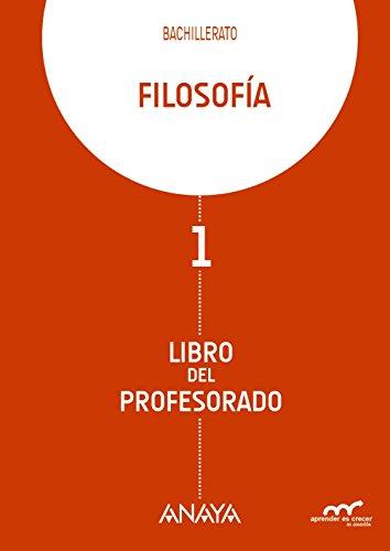 9788467827392: Filosofía. Libro del profesorado. (Aprender es crecer en conexión)