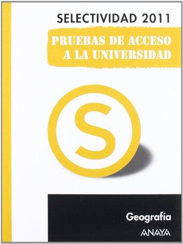 9788467828450: Geografía. Pruebas de Acceso a la Universidad. (Selectividad/PAU 2011)