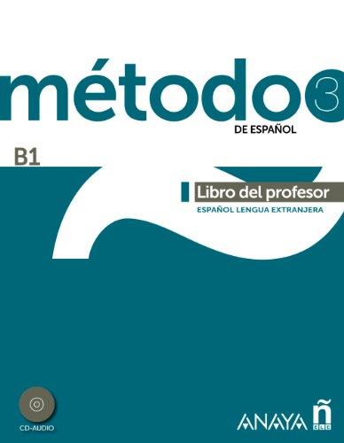 9788467830569: Metodo De Espanol: Libro Del Profesor + CD (B1)