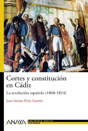 9788467830903: Cortes y constitución en Cádiz
