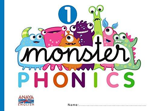 9788467832709: Monster Phonics 1.