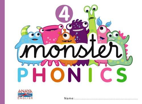 9788467832785: Monster Phonics 4.