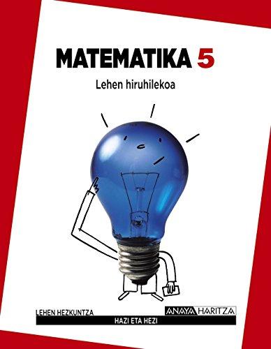 9788467835441: Matematika 5. (Hazi eta hezi)