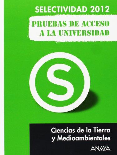 9788467835779: Ciencias de la Tierra y del Medio Ambiente. Pruebas de Acceso a la Universidad.