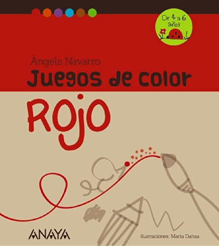9788467840216: Juegos de color rojo (Spanish Edition)