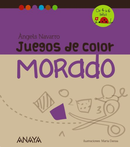 9788467840247: Juegos de color morado (Spanish Edition)
