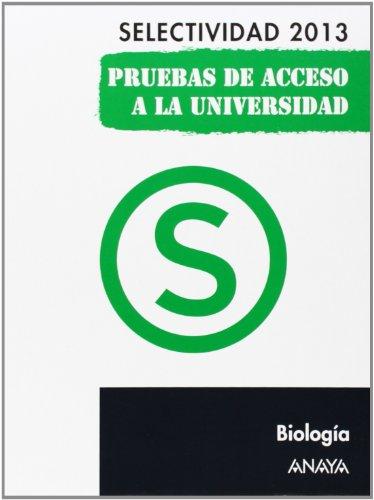 9788467845105: Biología. Selectividad 2013. (Selectividad/PAU 2013)