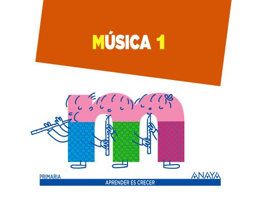 9788467845747: Música 1. (Aprender es crecer)