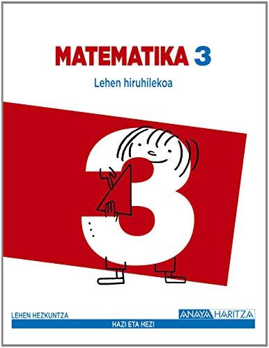 9788467849615: Matematika 3. (Hazi eta hezi)
